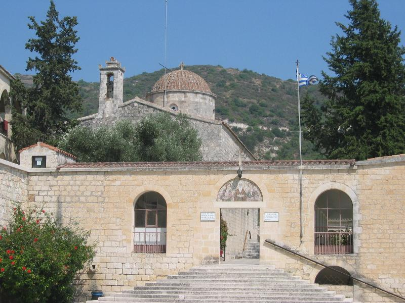 St.Neophytos Shrine/Church. Major site in Cyprus. 5 minute drive or 20 minute walk from apartment.