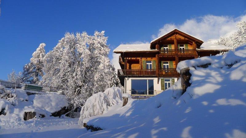 Schlosseck (Wengen) in winter