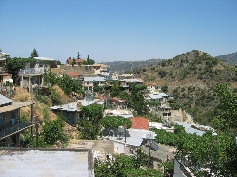 Troodos Mountain village. 2 hour drive from Paphos. Many villages, monasteries & beautiful scene