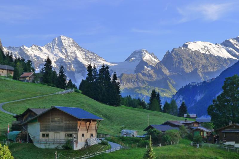View from Schlosseck