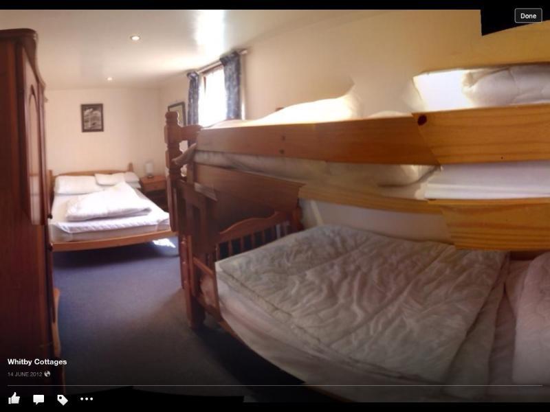 back bedroom showing bunk beds