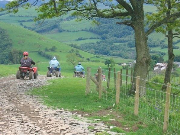 Enjoy quadbiking