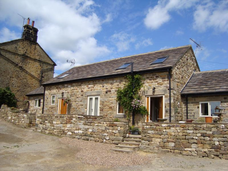 Rossmoor Cottage with Bramble Cottage next door.