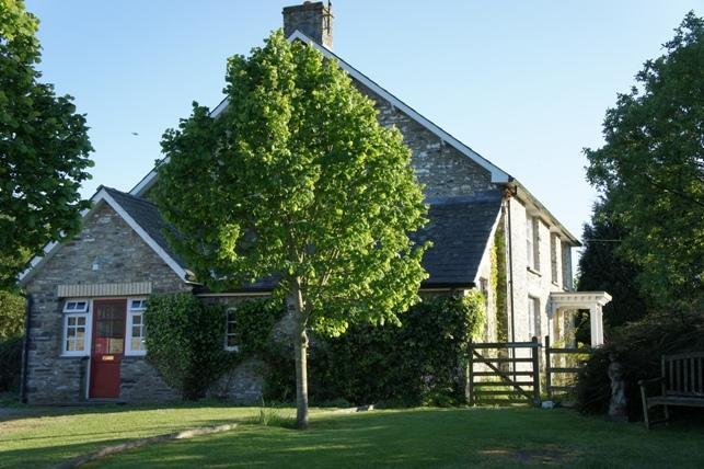Traditionelle walisische Bauernhaus mit modernem Komfort