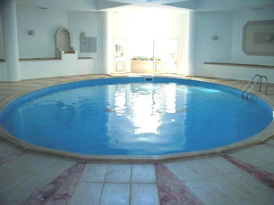 Enjoy the heated indoor pool, great for early and late season holidays