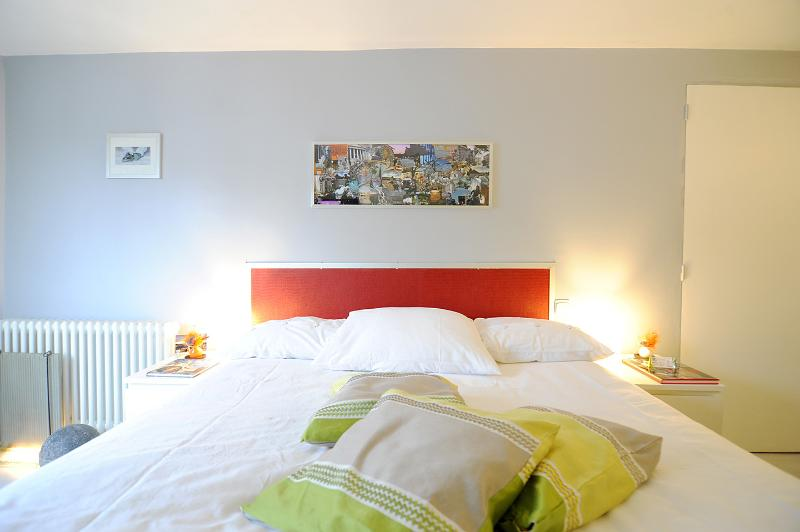 your double bed 1,60m, very comfortable one !