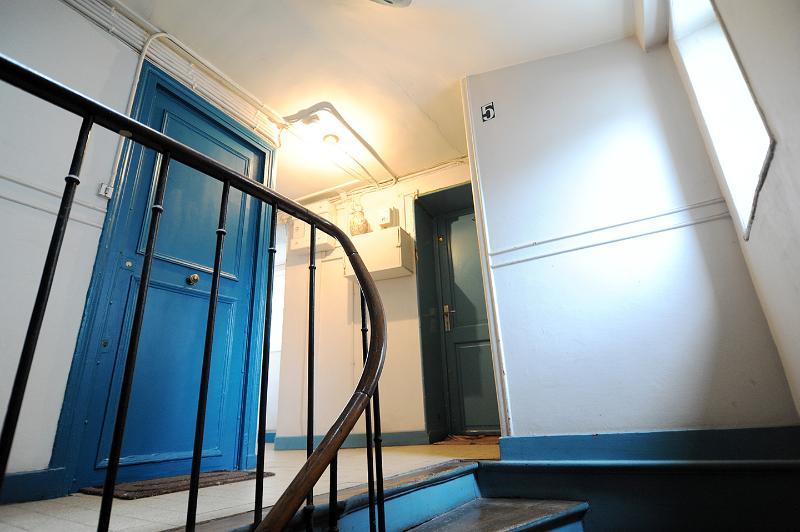 uw onafhankelijke ingang vanaf de trap