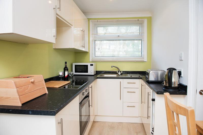fully integrated kitchen with all the essentials