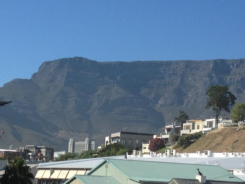 Table Mountain View From The Window of the Apartment