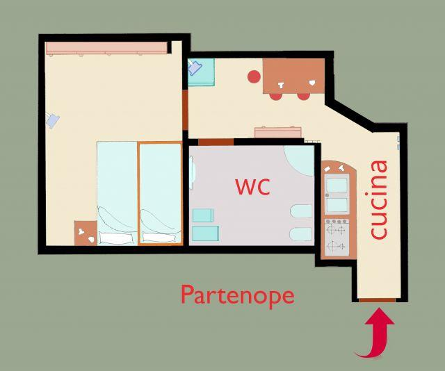 ESTUDIO-GORDO-PARTENOPE -WI-FI(FREE), vacation rental in Panza