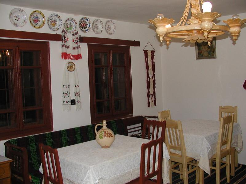 Traditiona Dinner room    style old romanian  house