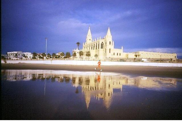 Playa y santuario