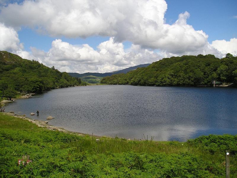 Lake at Precipice Walk near Dolgellau - 45 mins drive away