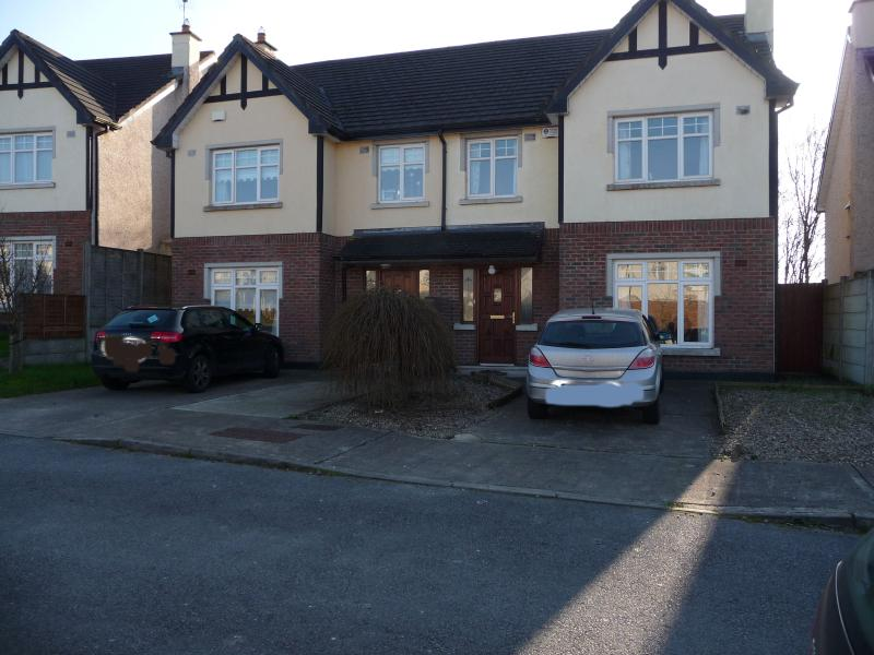 semi detached house in a highly popular residential  area of Limerick City