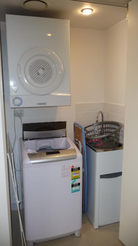 Laverie dans l'appartement