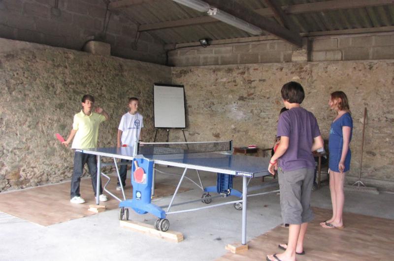 Table-tennis, Dolphin Gites