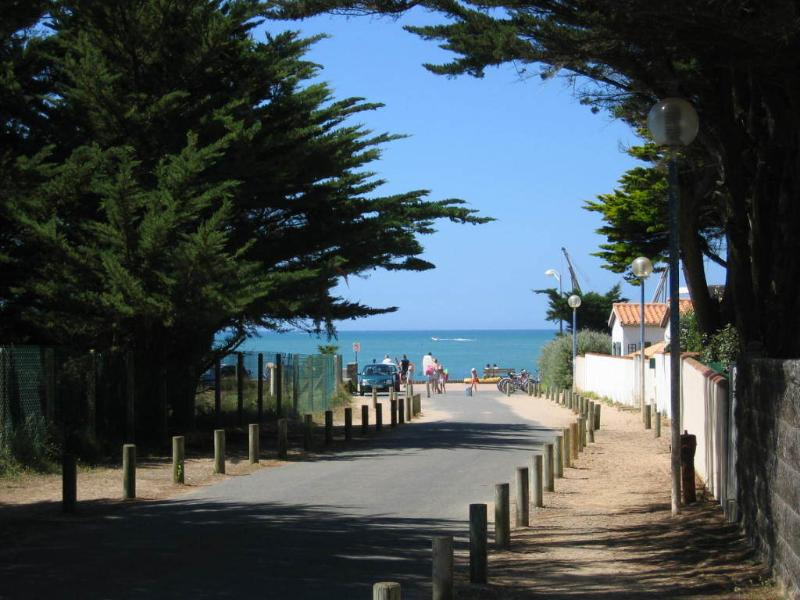 Local beach in Brétignolles sur mer