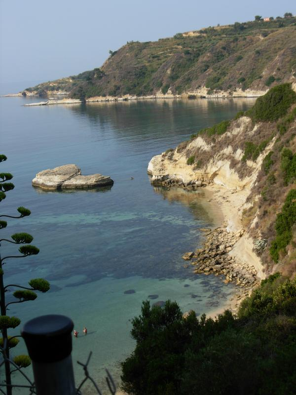 Thermanti beach - closest beach to the villa - around 500 meters from the villa