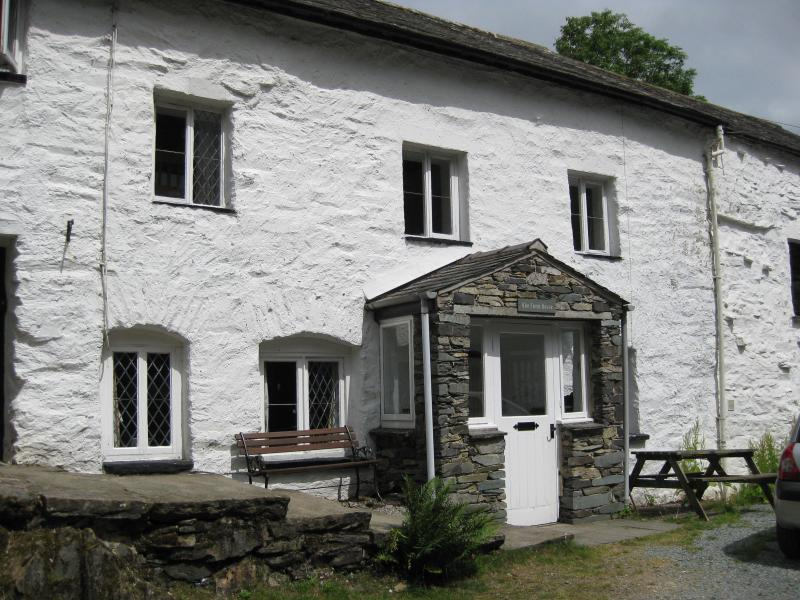 17th century, white washed, traditional lakeland farmhouse