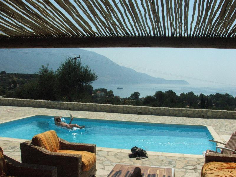 Pool + Patio view