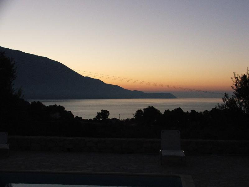 Dawn across the bay
