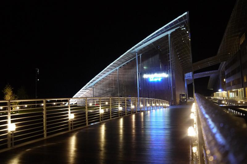 World renown Modern Art museum Astrup Fearnly, 150 meters from main door.