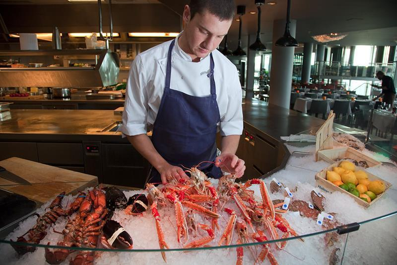 Seafood capital...