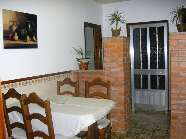 Cocina 4 fugão with the gas.