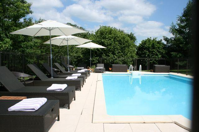 Our fab swimming pool, which catches the sun until late evening, is heated and has a safety fence