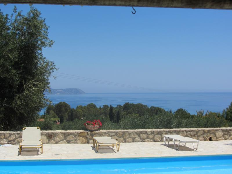 View of the pool & bay