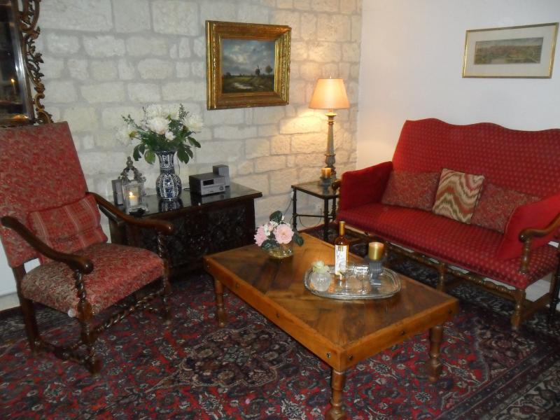 Sitzecke für Renaissance-Wohnung