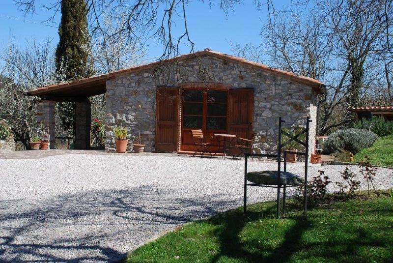 Podere Prati, Montieri, GR, holiday rental in Montieri