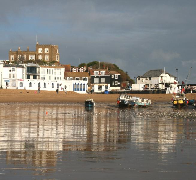 Broadstairs beach 300 metres from house
