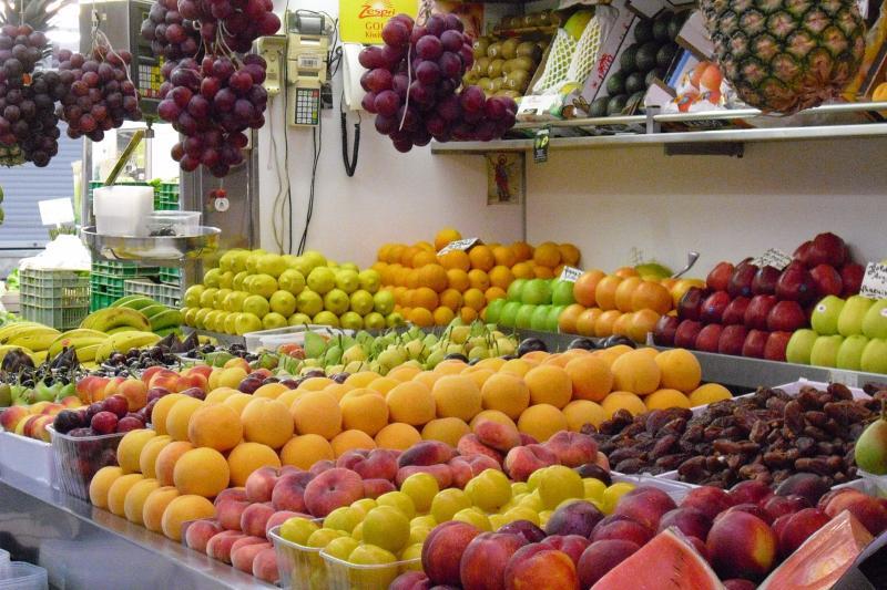 daily street food market