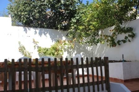 Private back terrace