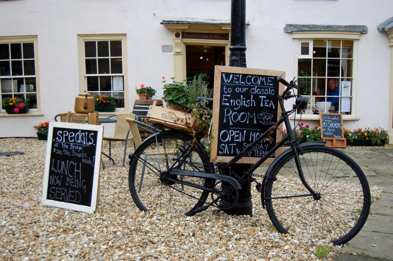 Visit the tea room in Horncastle only 4 miles away