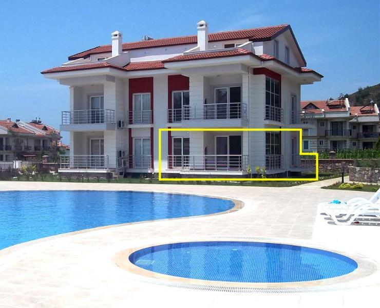 Turquoise Aquarium Apartment, vacation rental in Fethiye