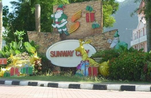 Entrance to Sunway City Ipoh