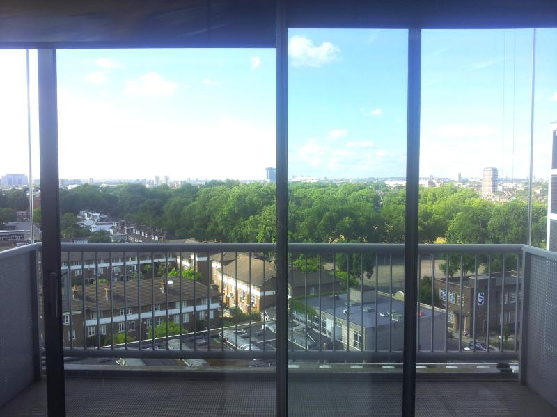 Ground floor. Living room terrace. Enjoy breakfast whilst looking out onto the park.