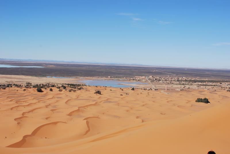 desert autour de merzouga