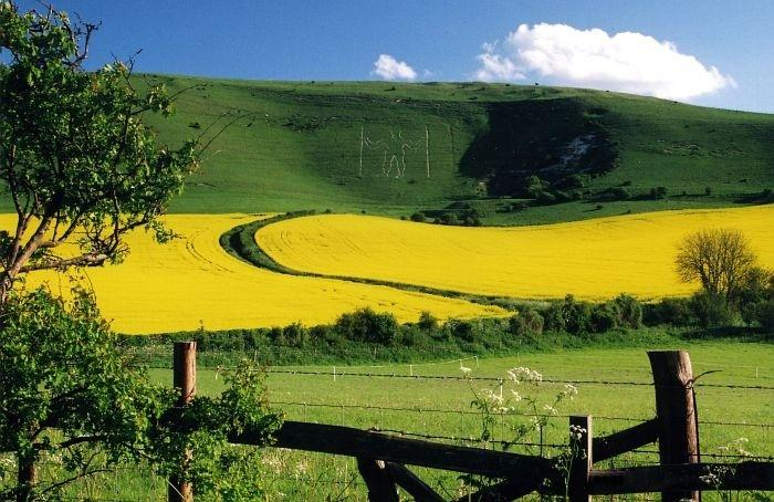 The Longman of Wilmington - Enjoyed from the Southdowns Way