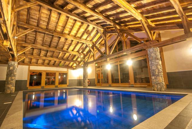 Chardons residente só piscina