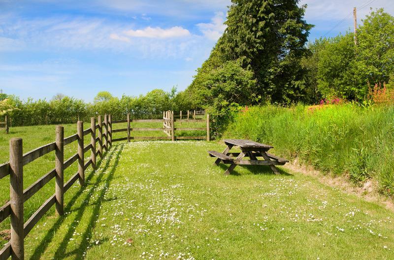 Private encosed garden