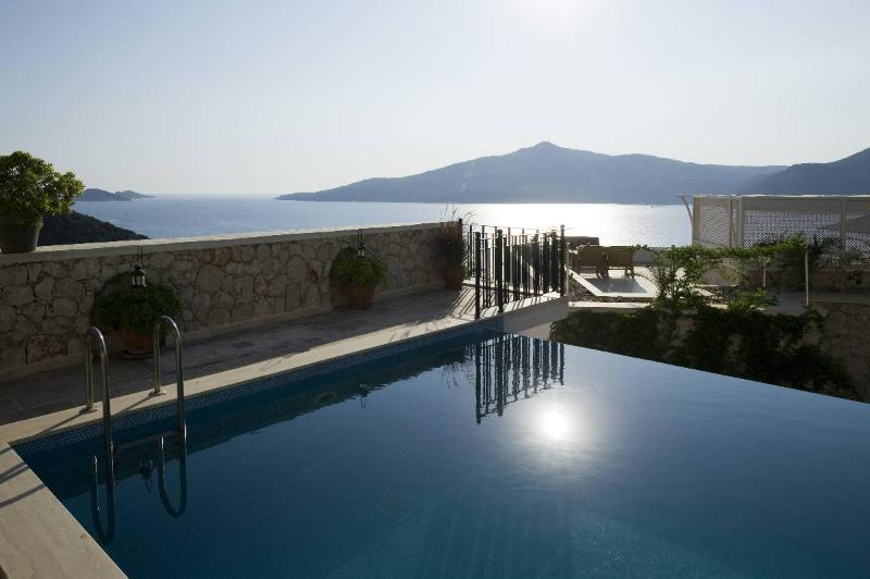 The Mediterranean Sea from your pool