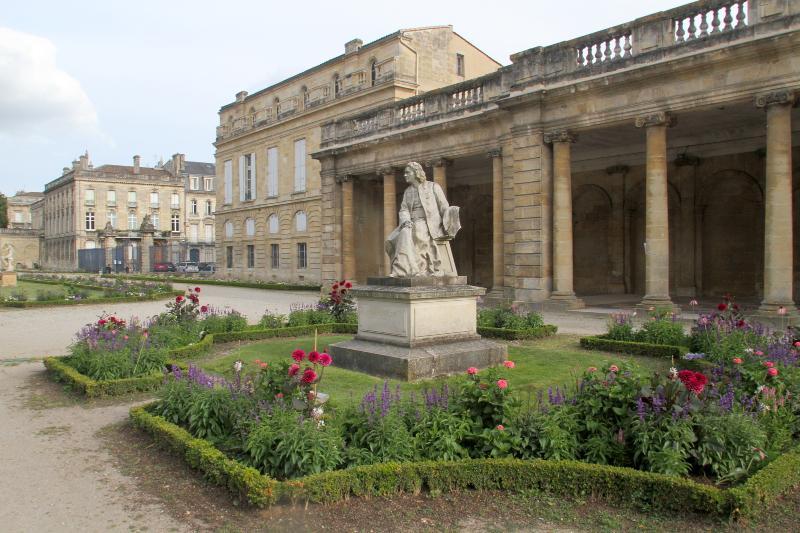 Beautiful Bordeaux Public Gardens