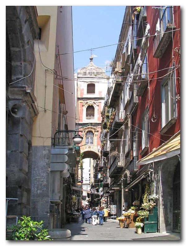 San Gregorio Armeno Street