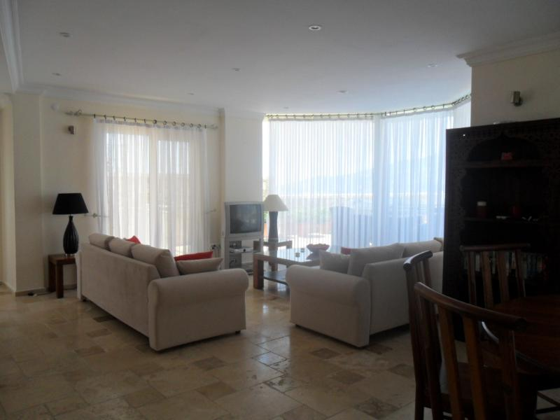 Living room and relax area