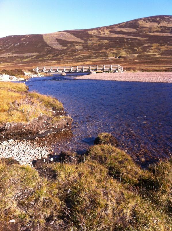 Stunning scenery at Loch Muick