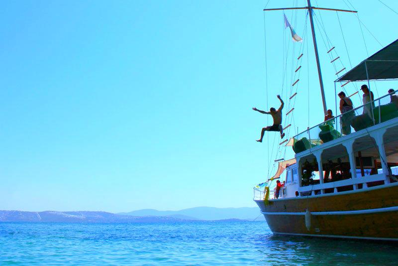 Boat trips around Gulluk harbour