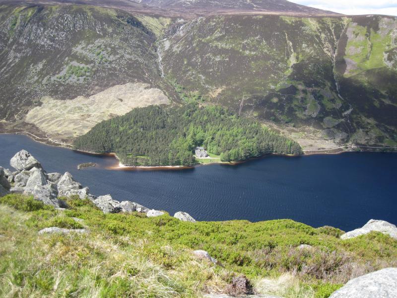 The wonderful scenery at Loch Muick